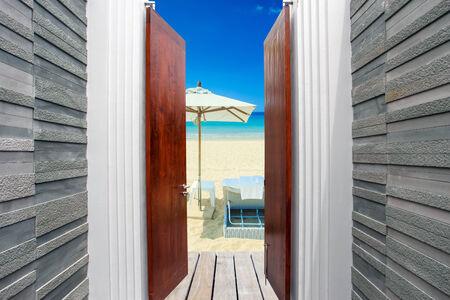 The open door to the Beach. photo