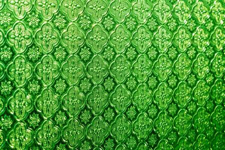 Close up glass texture