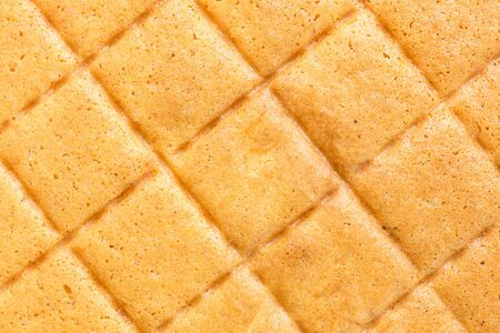 cake background: Close up Texture of butter cake background Stock Photo