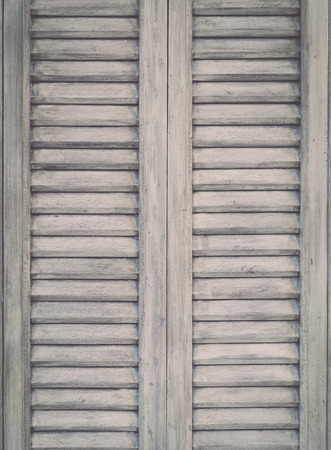 Close up Grey vintage wooden door