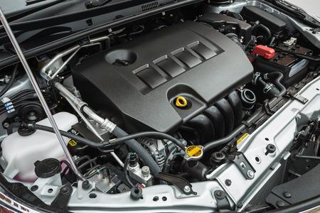 Nahaufnahme Detail der neuen Auto-Motor Standard-Bild - 40837114