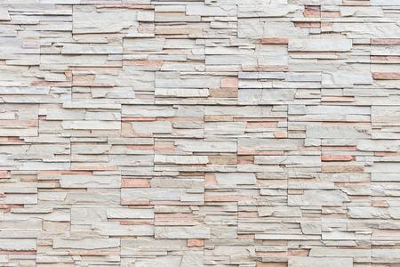 Close up Muster der Travertin-Natursteinmauer Textur und Hintergrund Standard-Bild - 42581969