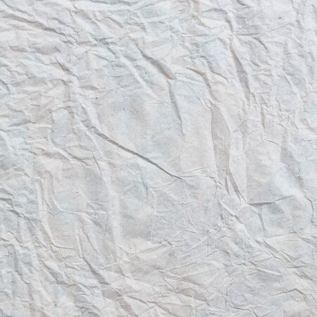 crumpled paper texture: Close up grey crumpled paper texture and background Stock Photo