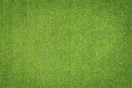 Pattern of green artificial grass for texture and background Standard-Bild