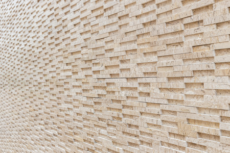 travertine: Pattern of yellow travertine wall texture and background