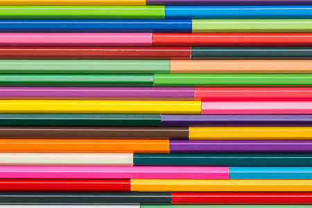 rainbow colours: Close up pattern colour pencils texture and background