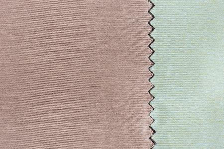 Macro kleur stof textuur kunt gebruiken voor de achtergrond of dekking Stockfoto
