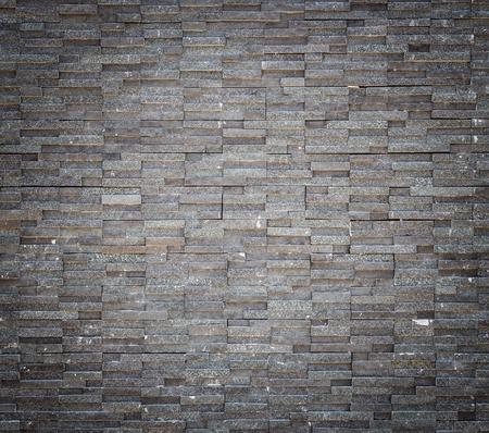 granite wall: Pattern black granite stone wall texture and background Stock Photo
