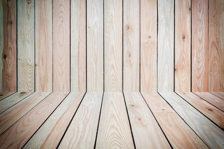 timber floor: Close up pine wood plank texture and background
