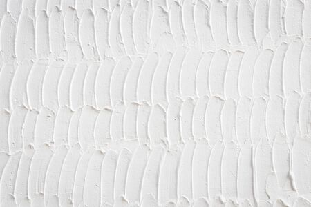 cement wall: Abstract of white cement wall texture and background