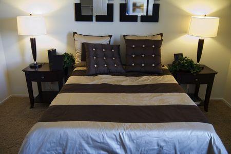 Beautiful Modern Bedroom Reklamní fotografie