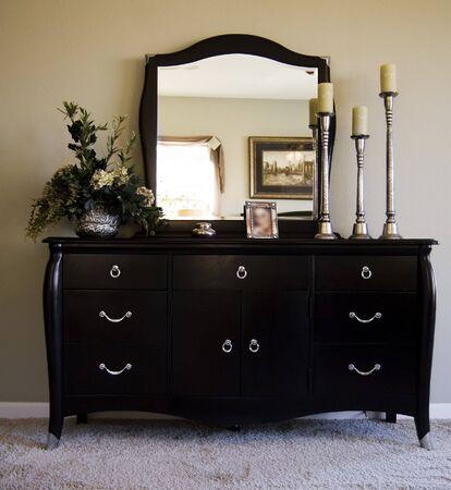 cajones: Muebles de dormitorio  Foto de archivo