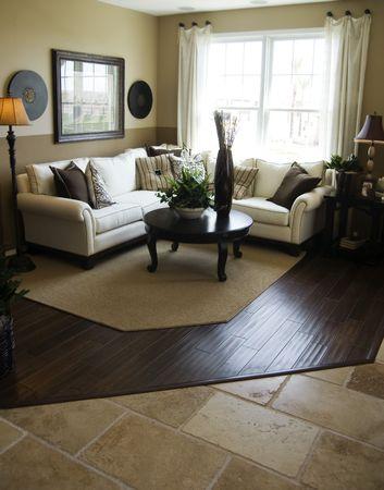 Modern Living Room Interior Design Stock Photo - 830617