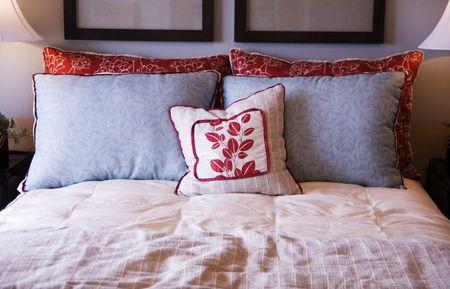 roomservice: Bedroom Design Detail Stock Photo