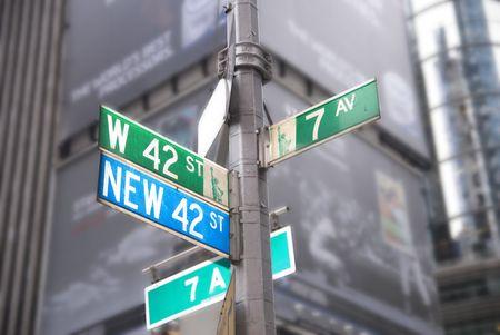 sq: Times Sq New York City