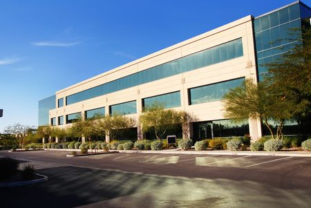 office building exterior: Modern Commercial Building