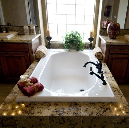 remodeled: Luxurious Bathroom
