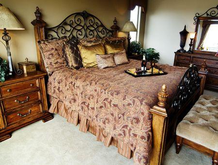 Luxurious bedroom Stock Photo - 2802588