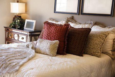 Beautiful bedroom inter design Stock Photo - 3168862