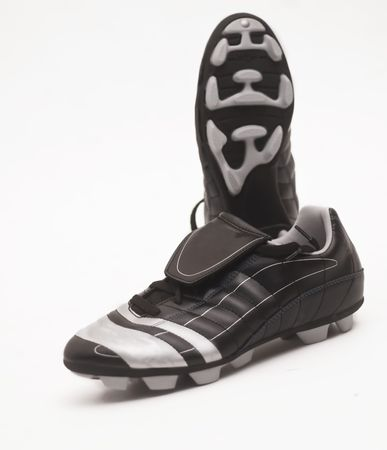 A pair of football soccer boots
