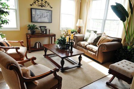 Elegant living room Stock Photo - 3323776