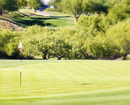 scottsdale: Golf resort in Arizona Stock Photo