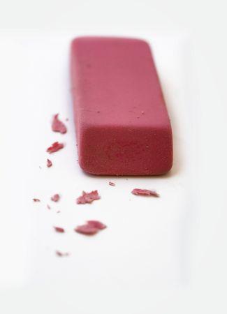 deleting: Rubber eraser