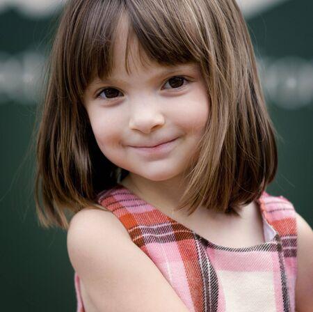 Adorable little girl  photo
