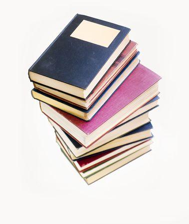 Pila de libros Foto de archivo - 4205602