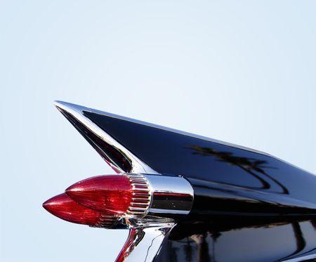 """aletas: Classic 1950 """"American Car Foto de archivo"""