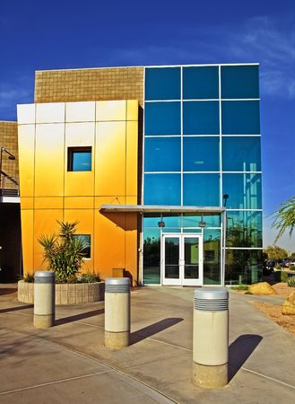 MModern stylish business building exterior Stock Photo - 4770008