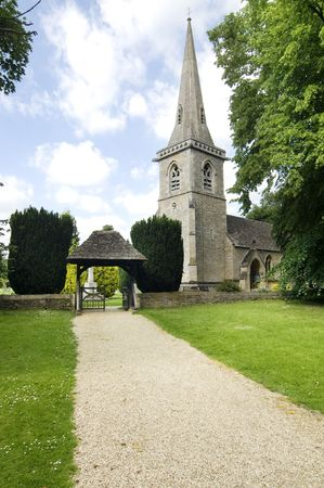 slaughter: St. Marys Church, Lower Slaughter built in 1867