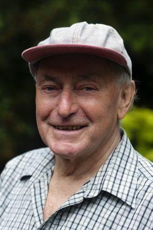 Happy retired senior pensioner man Stock Photo - 5141928