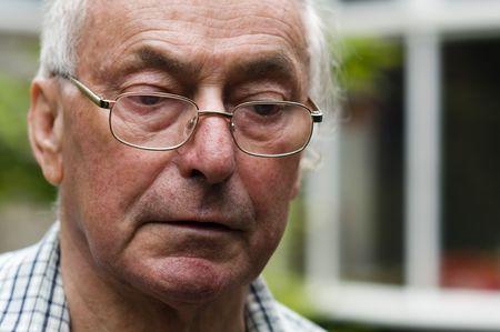 Retired senior pensioner man Stock Photo - 5141923