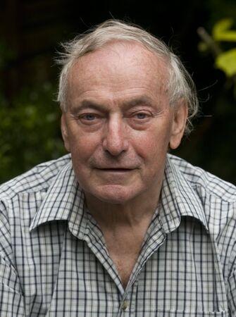 Happy retired senior pensioner man Stock Photo - 5141927