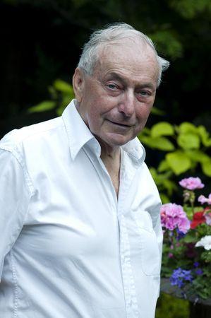 Reired 72 jaar oude man