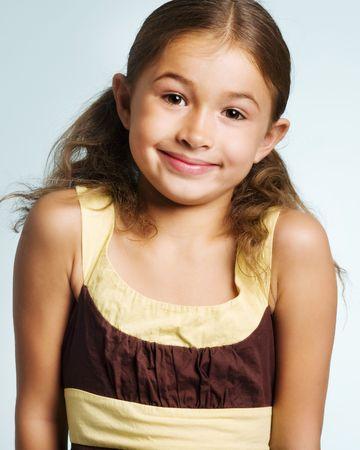 Portrait of a pretty girl  photo