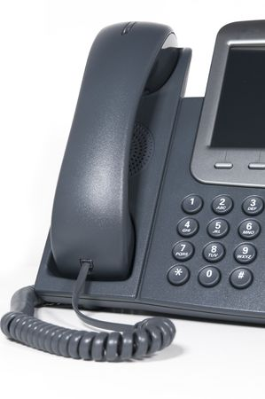 function key: Modern business phone system Stock Photo