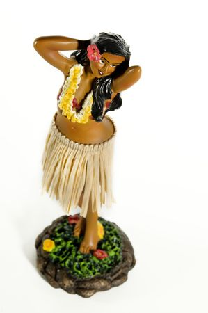 muneca vintage: Hula Dancing mu�eca hawaiana