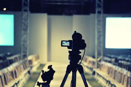Fashion show runway stage Stockfoto