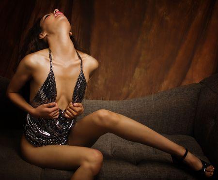 Sexy beautiful woman photo
