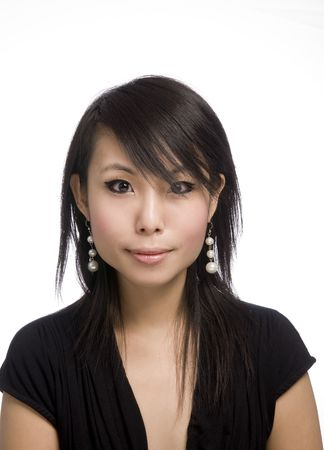 Asian female Stock Photo