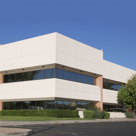healthcare office: Modern office building Stock Photo