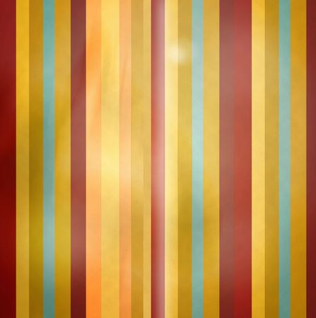 kitsch: Grunge retro kitsch stripe pattern