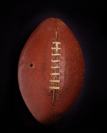 american football ball: Vintage football