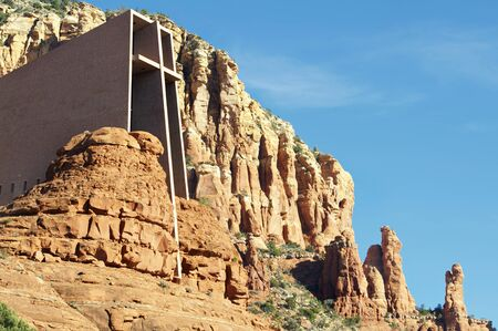 coconino national forest: Sedona chapel of Holy Cross
