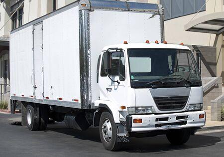 White truck Stock Photo - 10817973