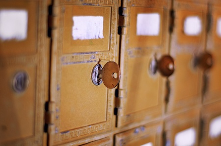 Vintage classic US mail box Stock Photo - 14208599