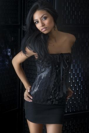 latina: Beautiful young woman