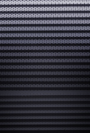 Chrome steel metal background